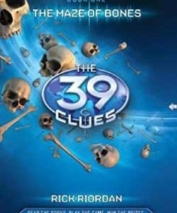 39 clues book cover graphic