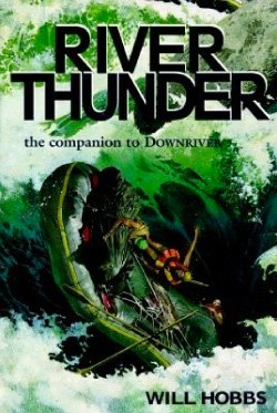 river thunder book cover graphic