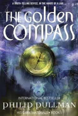 golden compass book cover graphic