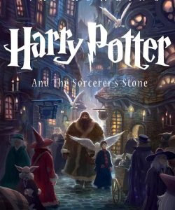 harry potter book cover graphic