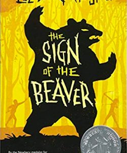 sign of the beaver book cover graphic