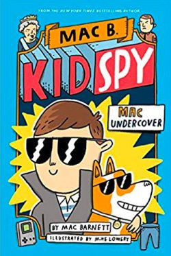 kid spy book cover graphic